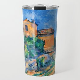 "Paul Cezanne ""Maison Maria with a View of Chateau Noir"" Travel Mug"