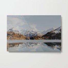 Mountain Reflections #society6 #buyart Metal Print