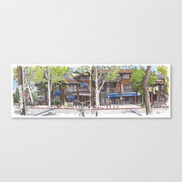 3rd and A, Davis Canvas Print