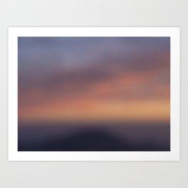 Colors of Sunset Art Print