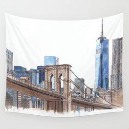 Brooklyn Bridge Wall Tapestry