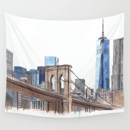 Brooklyn Bridge Wall Tapestry