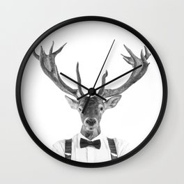 DIEGO WILD Wall Clock