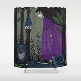 There is a Place in the Woods... Shower Curtain
