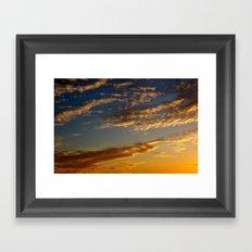 A North Norfolk Sky Framed Art Print