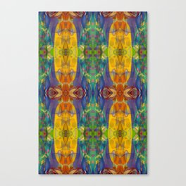 Blue Rainbow Canvas Print