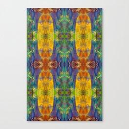 Blue Rainbow Canvas Print