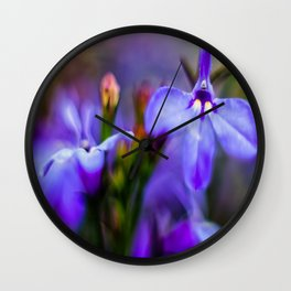 Purple Dreams Wall Clock