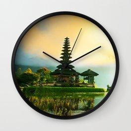 kuta bali Wall Clock