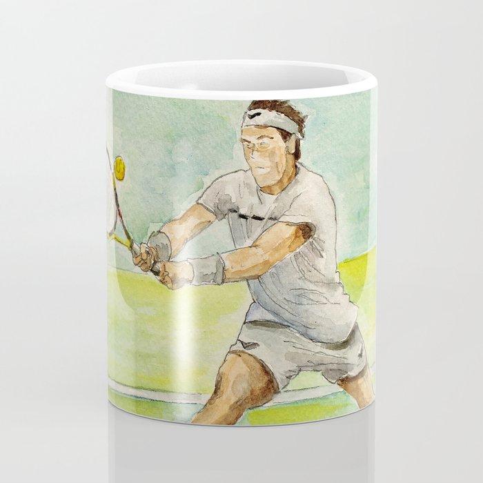 Rafael Nadal Pro Tennis Player Coffee Mug