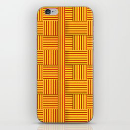 Wattle and daub wall iPhone Skin