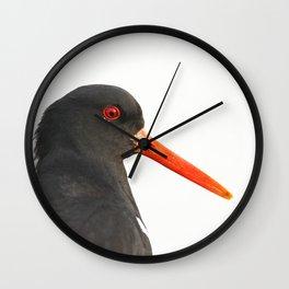 scholeksters scholekster oystercatcher Wall Clock