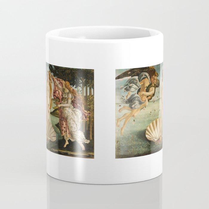 The Birth of Venus (Nascita di Venere) by Sandro Botticelli Coffee Mug