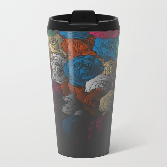 In Bloom Metal Travel Mug