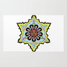 Alright linda belcher mandala kaleidoscope Rug