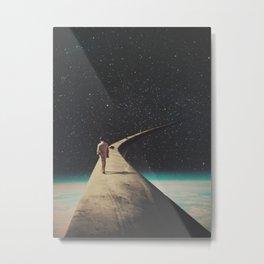 We Chose This Road My Dear Metal Print