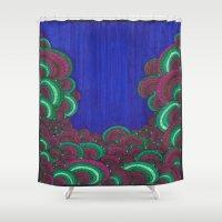 dr seuss Shower Curtains featuring Dr. Seuss 7 by Sarah J Bierman