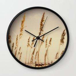 Beach Grass - Polaroid Wall Clock