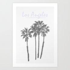 Los Angeles Poster Art Print