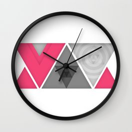 Optical illusion Wall Clock