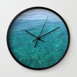 The Turquoise Coast Wall Clock