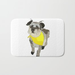 Thor the Rescue Dog Bath Mat