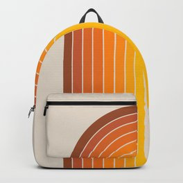 Gradient Arch - Vintage Orange Backpack