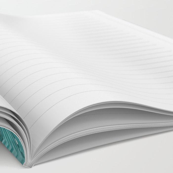 tropical blue Notebook