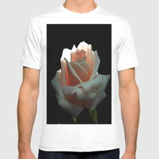 A Beautiful Rose Mens Fitted Tee MEDIUM White