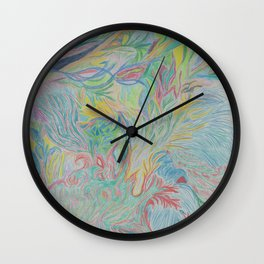 Valley of the Tribe Wall Clock