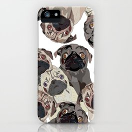 Pug Nation iPhone Case