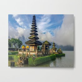 Water Temples of Bali Metal Print