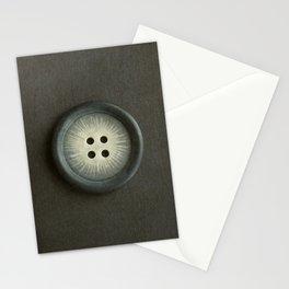 Vintage Grey Button Stationery Cards