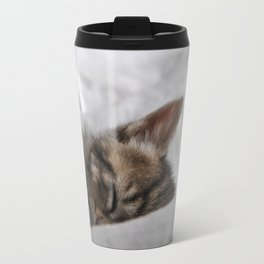 Small cat sleeping Travel Mug