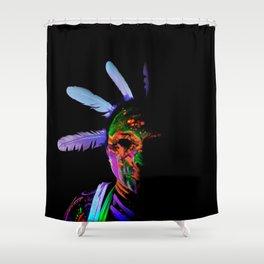 Future Toxic Shower Curtain