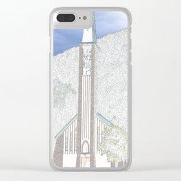 Church in Val di Fassa Clear iPhone Case