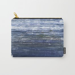 Deep koamaru abstract watercolor Carry-All Pouch