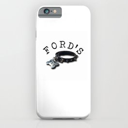 FORD'S PET iPhone Case