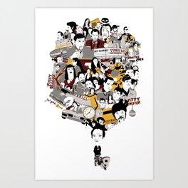 Quentin´s World Art Print
