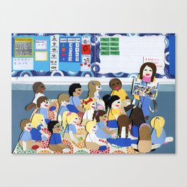Kindergarten Canvas Print