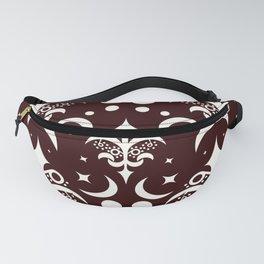 Swirly pattern1 Fanny Pack