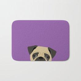 Pug Bath Mat