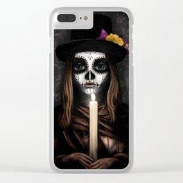 Día de los Muertos Clear iPhone Case