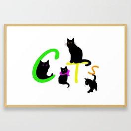 Cats #1 Framed Art Print