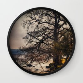 Life on the Edge Wall Clock