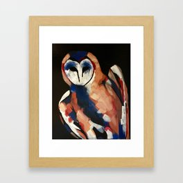 Barn Owl 2 Framed Art Print