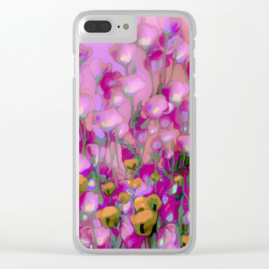Spring Blush too ... Clear iPhone Case