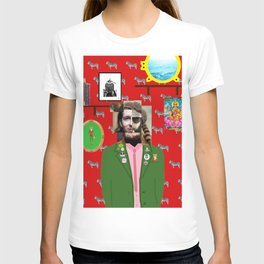 Wes Anderson illustration T-shirt
