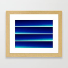 LineÆR Framed Art Print