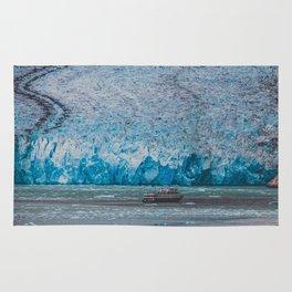 Seward Glacier, Tracy Arm Fjord, Alaska Rug
